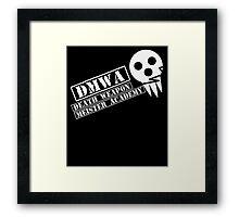soul eater- DMWA skull Framed Print