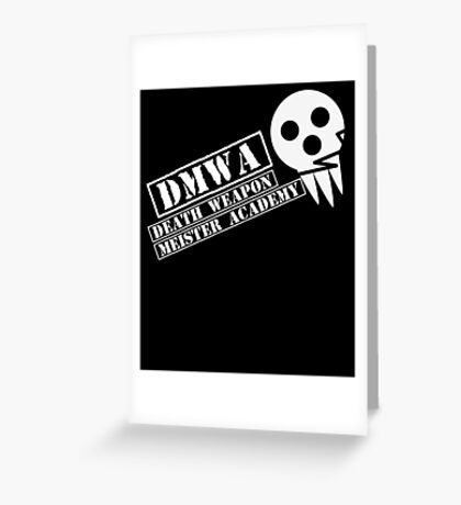 soul eater- DMWA skull Greeting Card