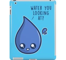Water You Looking At iPad Case/Skin