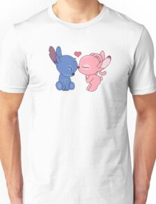 angel and stitch Unisex T-Shirt