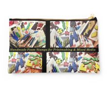 Printmaking Tools: Custom Made Foam Stamps Studio Pouch