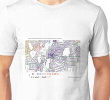 Multiple Deprivation Rushey Green ward, Lewisham Unisex T-Shirt