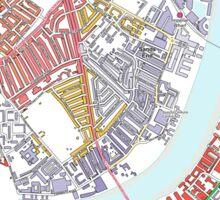 Multiple Deprivation Sands End ward, Hammersmith & Fulham Sticker
