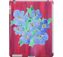 Forget-Me-Nots iPad Case/Skin