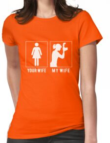 PHOTOGRAPHER - MY WIFE Womens Fitted T-Shirt