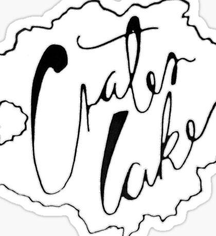 Crater Lake Oregon Sticker