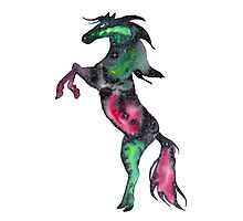 Galaxy Horse Photographic Print