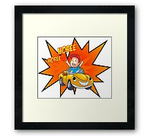 Happy Person Framed Print
