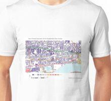 Multiple Deprivation Shadwell ward, Tower Hamlets Unisex T-Shirt
