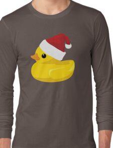 Santa Ducky Long Sleeve T-Shirt