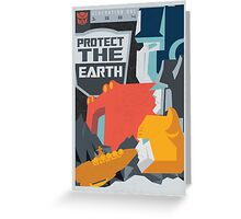 Protect (Clean) Greeting Card