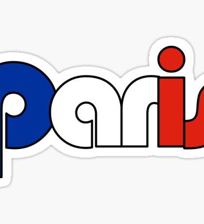 Paris (French Flag) Sticker
