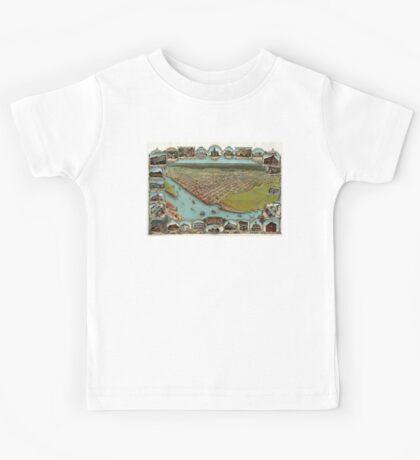 Eureka - California - United States - 1902 Kids Tee