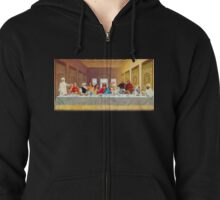 The Next Supper Zipped Hoodie