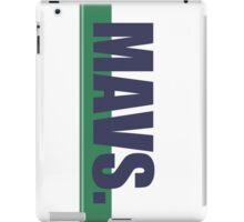 Mavs. iPad Case/Skin