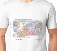 Multiple Deprivation Shaftesbury ward, Wandsworth Unisex T-Shirt