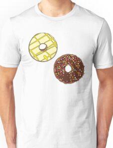 Donuts like Chocolates Unisex T-Shirt