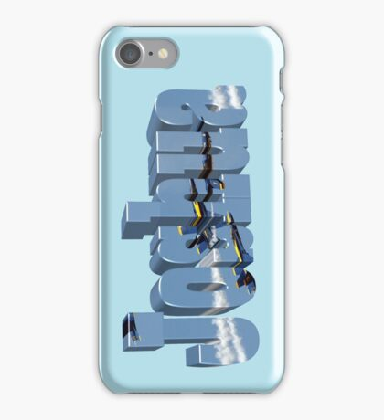 Joshua with Blue Angels iPhone Case/Skin