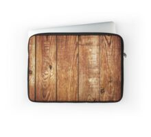 Wooden textured background Laptop Sleeve