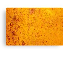 Rusty orange grunge texture Canvas Print