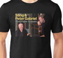 sting & peter gabriel tour 2016 smileswett SS six Unisex T-Shirt
