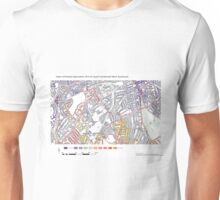 Multiple Deprivation South Camberwell ward, Southwark Unisex T-Shirt