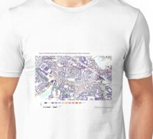Multiple Deprivation South Bermondsey ward, Southwark Unisex T-Shirt