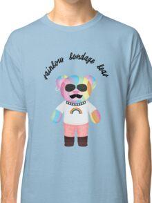 Rainbow Bondage Bear - Punk Classic T-Shirt