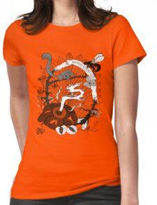 Rotting Flesh Lily (Rafflesia Arnoldii) Womens Fitted T-Shirt