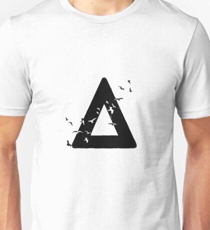 Bastille Birds Triangle Black Unisex T-Shirt
