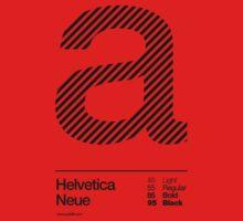 a .... Helvetica Neue (b) One Piece - Long Sleeve
