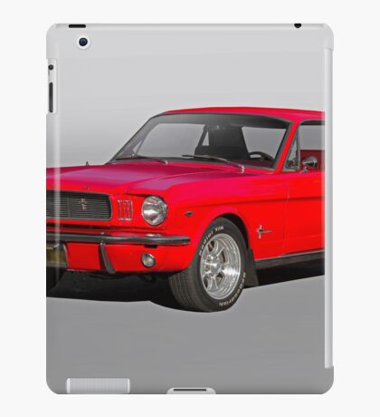 1966 Ford Mustang Coupe iPad Case/Skin