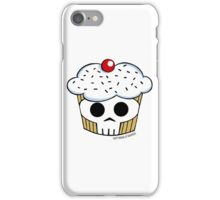 SKULL CUPPYCAKE!! iPhone Case/Skin