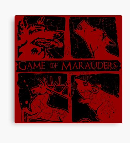 Game of Marauders Canvas Print