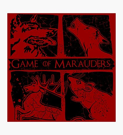 Game of Marauders Photographic Print