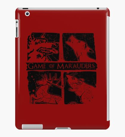 Game of Marauders iPad Case/Skin