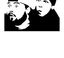 Jay and Silent Bob by monsterdesign