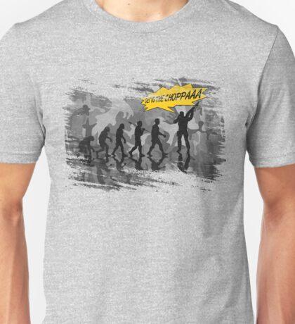 get to the choppaaa , camo b Unisex T-Shirt