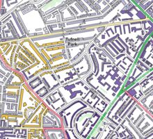 Multiple Deprivation St George's ward, Islington Sticker
