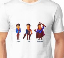 Ash Williams Evolution. Unisex T-Shirt