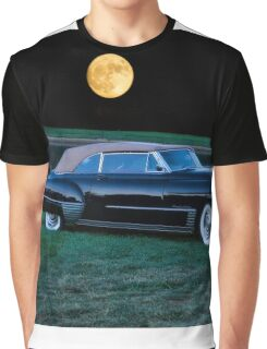 1948 Cadillac Series 62 Convertible 'Smooch'n in the Moonlight' Graphic T-Shirt