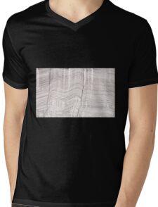 Repeating Linear Pattern Drawing Mens V-Neck T-Shirt