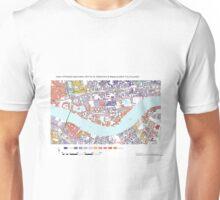 Multiple Deprivation St Katharine's & Wapping ward, City of London Unisex T-Shirt