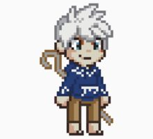Stay Frosty - Jack Frost Pixel by geekmythology