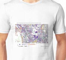 Multiple Deprivation St Pancras & Somers Town ward, Camden Unisex T-Shirt