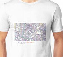 Multiple Deprivation St Peter's ward, Hackney Unisex T-Shirt