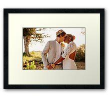 Erica and Jordy Framed Print