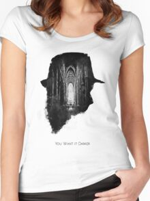 You Want it Darker Women's Fitted Scoop T-Shirt