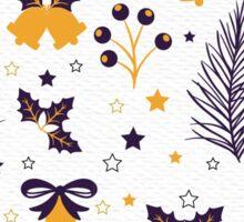 Christmas Bells Pattern  Sticker