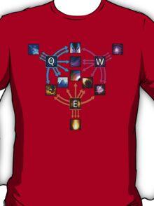 Invoker Cheat Sheet T-Shirt